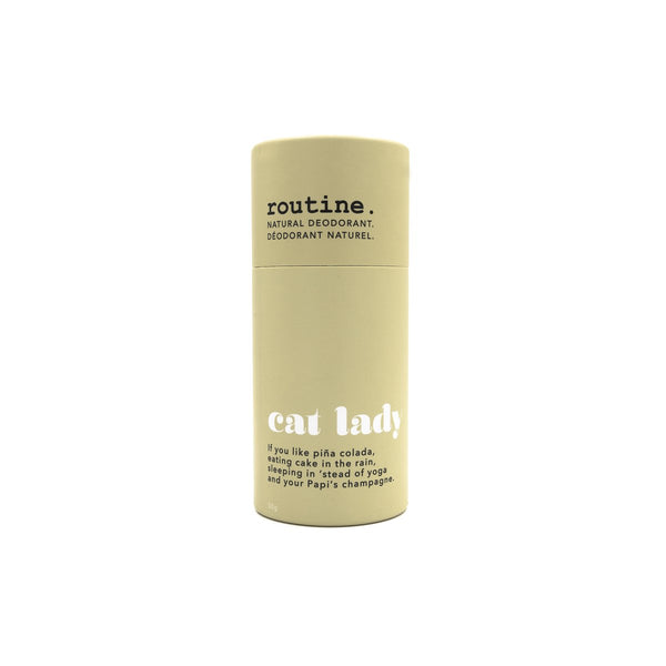 Routine Natural Goods Cat Lady Deodorant Stick