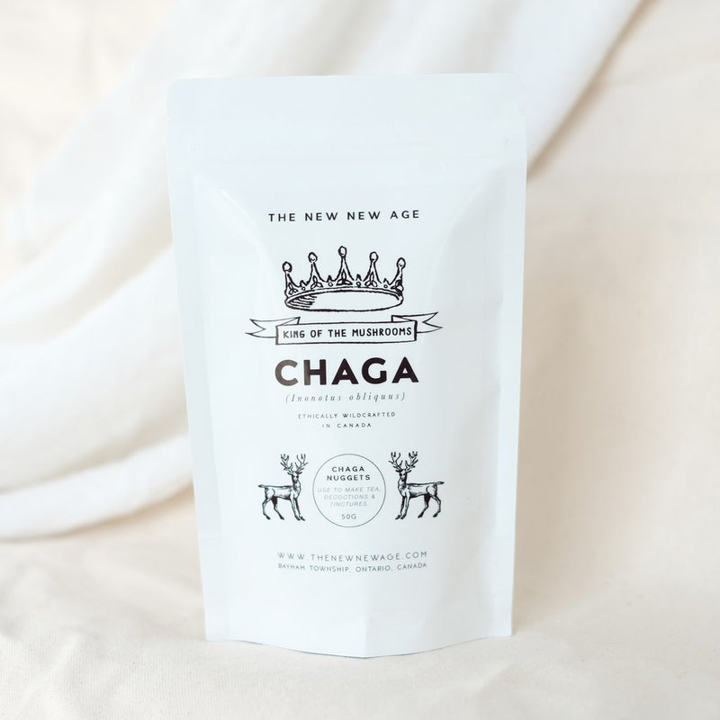 The New New Age - Chaga Mushroom Pieces - Anise Modern Apothecary
