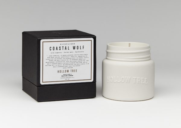 Hollow Tree Candle Co. - Coastal Wolf - Anise Modern Apothecary
