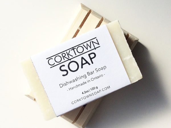 Corktown Dishwashing Bar Soap