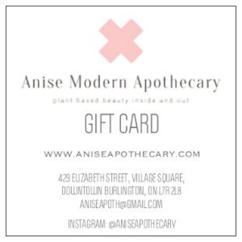 Gift Card - Anise Modern Apothecary
