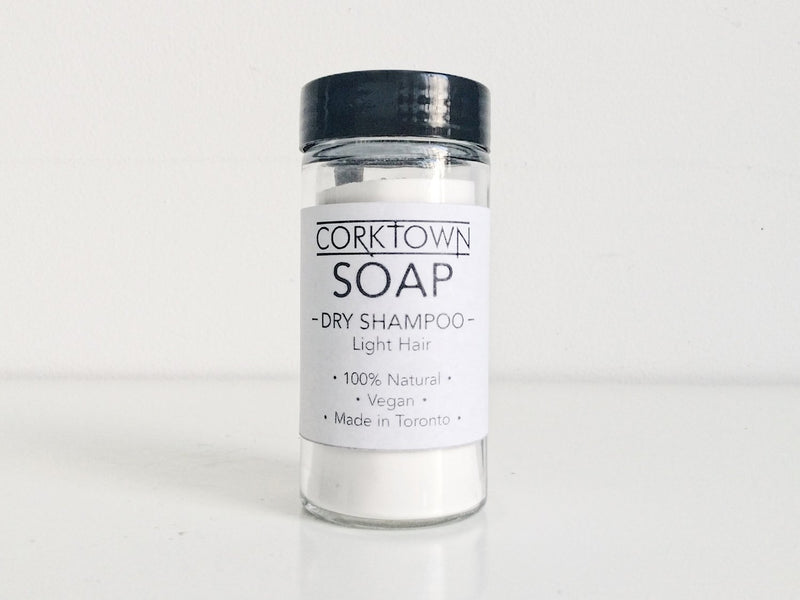 Corktown Soap - Dry Shampoo - Light Hair