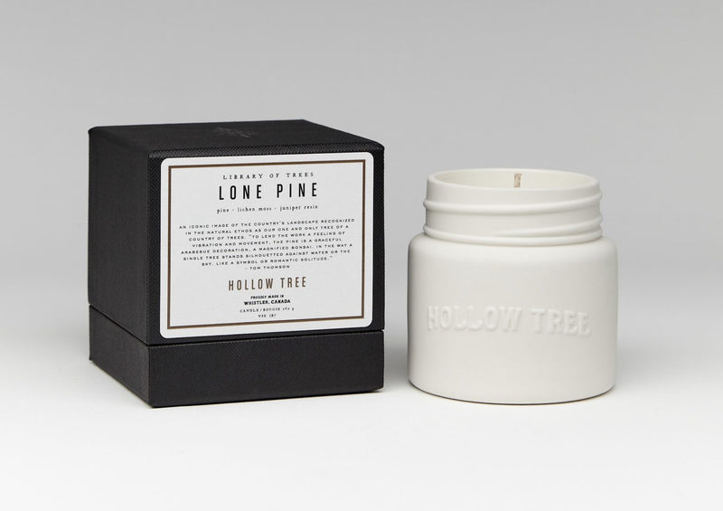 Hollow Tree - Lone Pine Candle - Anise Modern Apothecary
