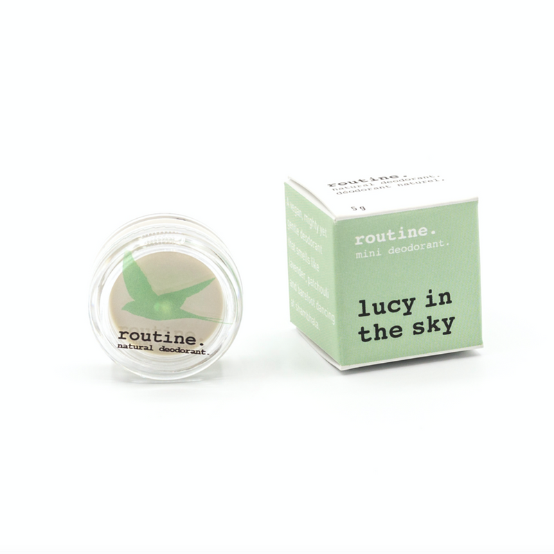 Routine. Natural Goods Lucy in the Sky (vegan, no beeswax )