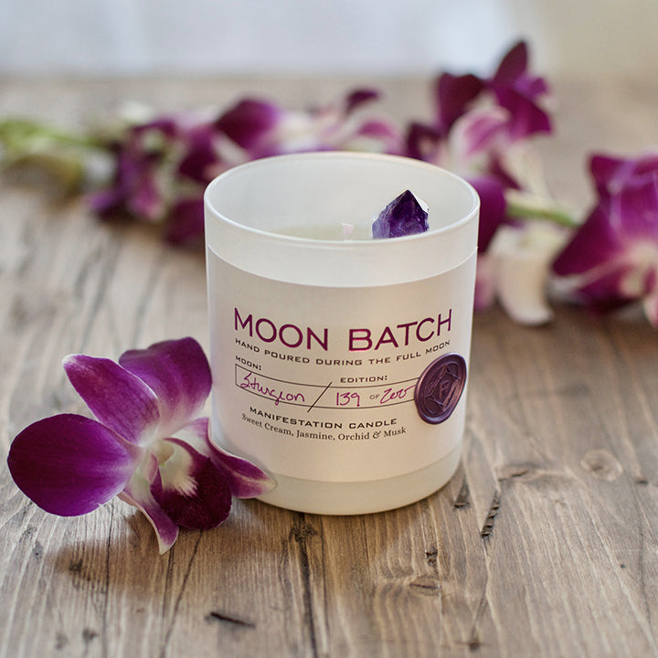Ritual Provisions Moon Batch Candle Lunar Twighlight - Anise Modern Apothecary