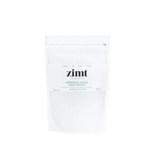 Zimt Chocolates - Peppermint, Please. Drinking Chocolate Mix - Anise Modern Apothecary