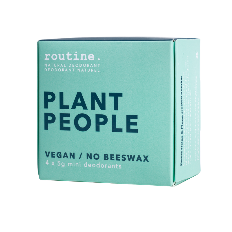 Routine Natural Goods Plant People Mini Pack - Anise Modern Apothecary