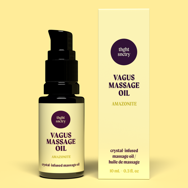 thght snctry Vagus Massage Oil - Anise Modern Apothecary