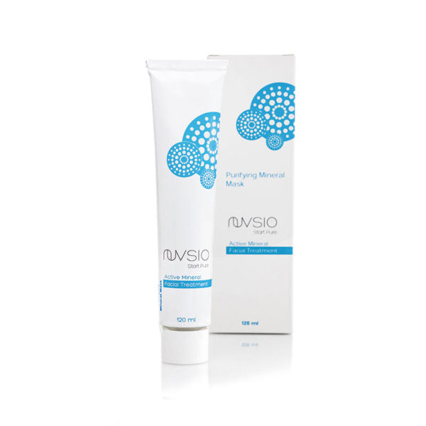 Nuvsio Purifying Mineral Mask + Cleanser in one - Anise Modern Apothecary