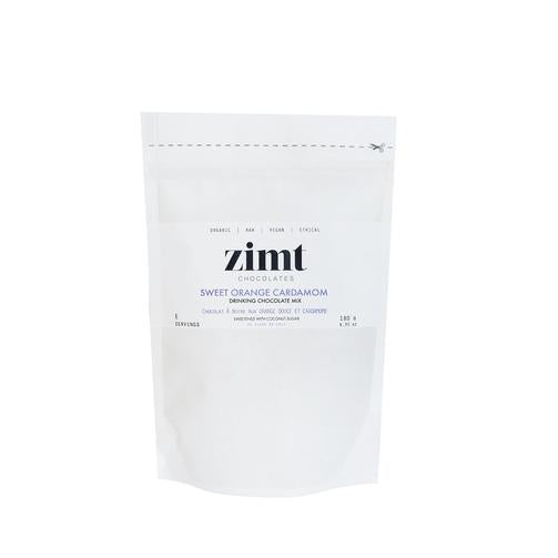 Zimt Chocolates - Sweet Orange Cardamom Drinking Chocolate Mix - Anise Modern Apothecary