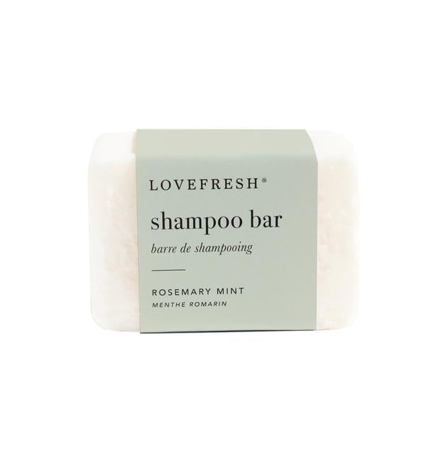 Lovefresh Shampoo Bar Rosemary Mint - Anise Modern Apothecary