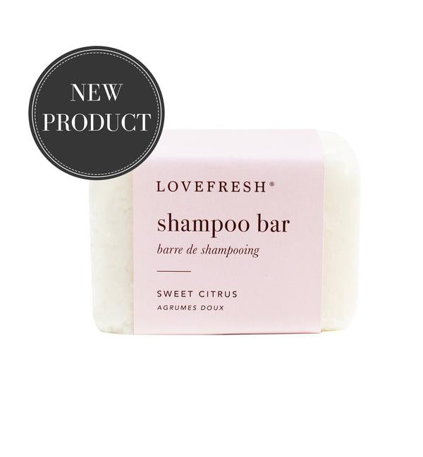 Lovefresh Shampoo Bar Sweet Citrus - Anise Modern Apothecary