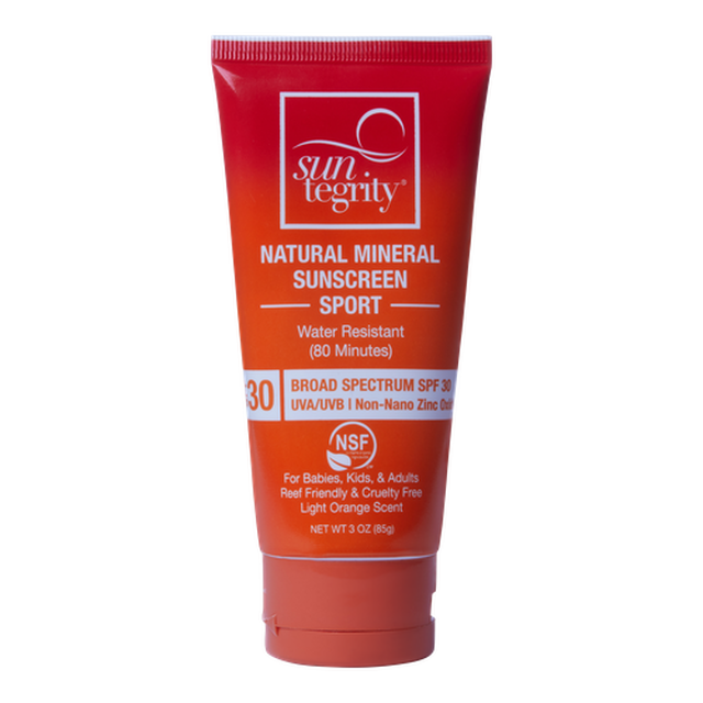 Suntegrity Sport Natural Mineral Sunscreen - Anise Modern Apothecary