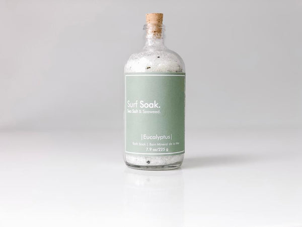 Surf Soak Sea Salt + Seaweed - Eucalyptus