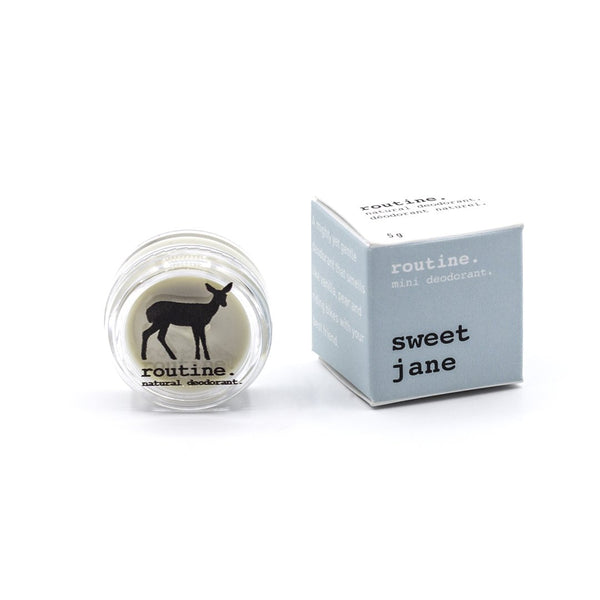Routine. Natural Goods - Deodorant Cream - Sweet Jane - Anise Modern Apothecary
