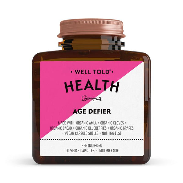 Well Told Health Botanicals Age Defier Booster - Anise Modern Apothecary