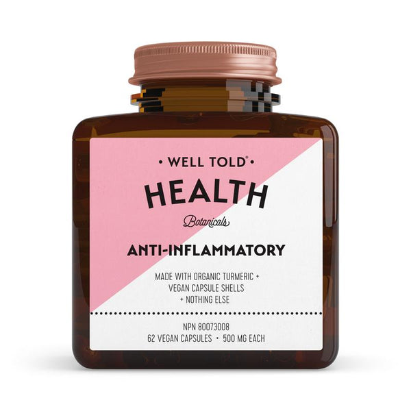 Well Told Health  Botanicals Anti-Inflammatory Booster