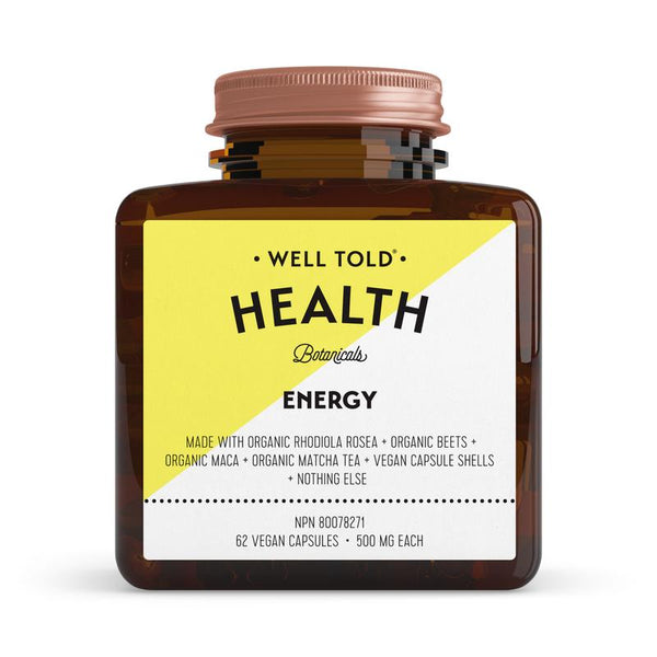 Well Told Health Botanicals Energy Booster