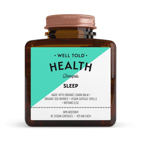 Well Told Health Botanicals Sleep Booster