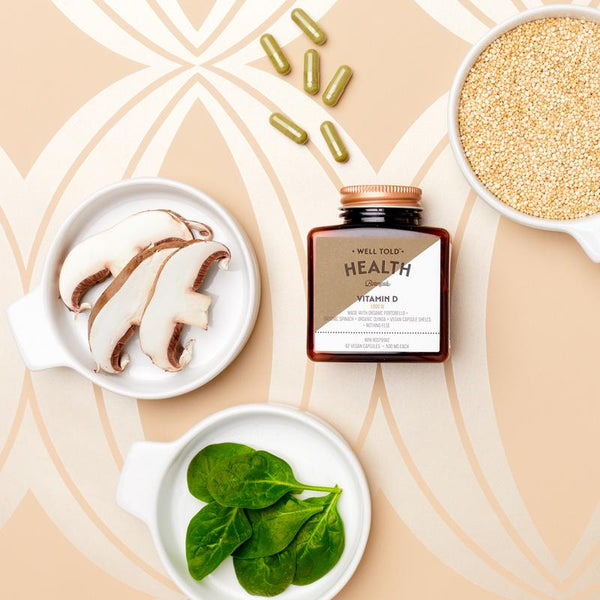 Well Told Health Botanicals Vitamin D Booster