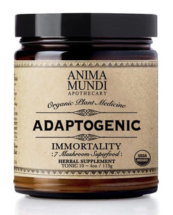Anima Mundi Herbals : Adaptogenic Immortality (7 mushrooms + Cacao) - more comingsoon! - Anise Modern Apothecary