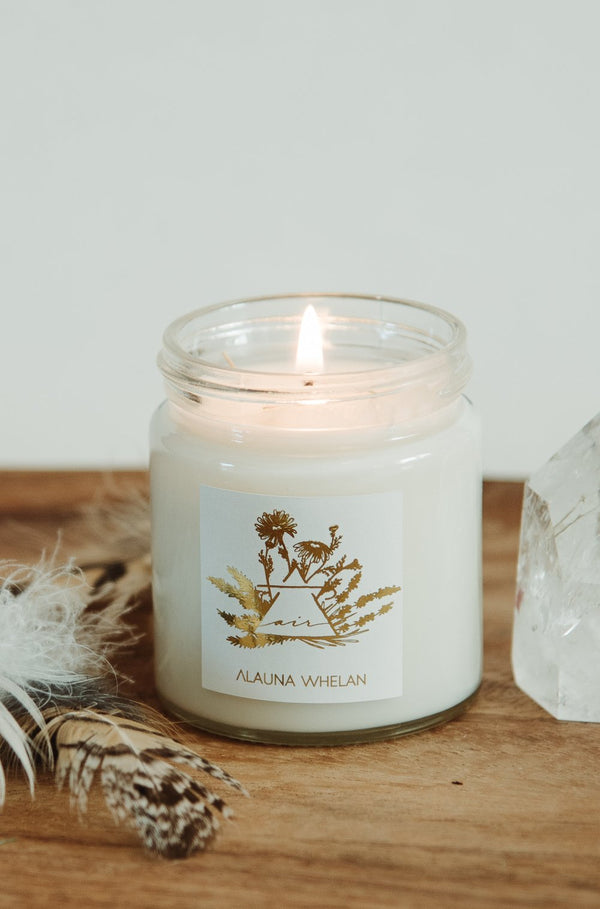 Alauna Whelan Ritual Mist + Intention Candle - Air / Clear Quartz - Anise Modern Apothecary