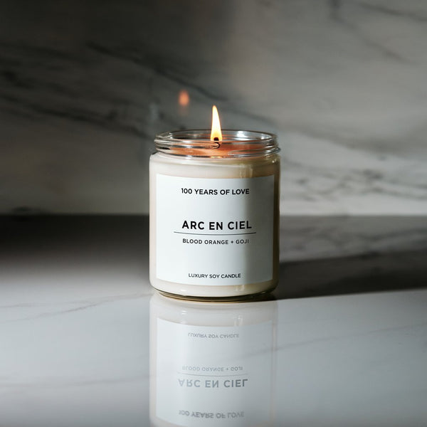 100 Years of Love - Arc En Ciel Candle