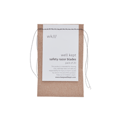 Well Kept Safety Razor Blades - Anise Modern Apothecary