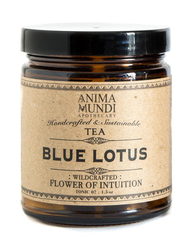 Anima Mundi Herbals Blue Lotus Tea : Flower of Intuition - more on it's way! - Anise Modern Apothecary