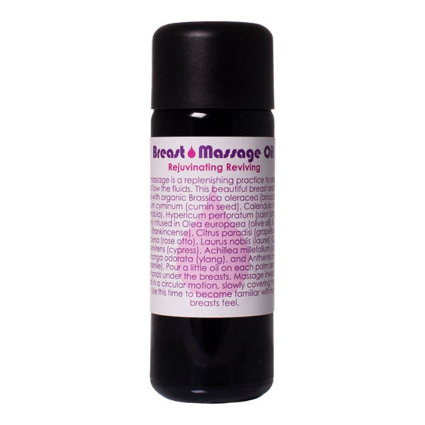 Living Libations Breast Massage Oil - Anise Modern Apothecary