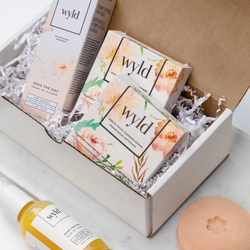 Wyld Seas the Day Cleanser + Pink Clay Konjac Sponge Bundle - Anise Modern Apothecary