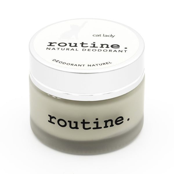 Routine. Natural Goods - Deodorant Cream - Cat Lady