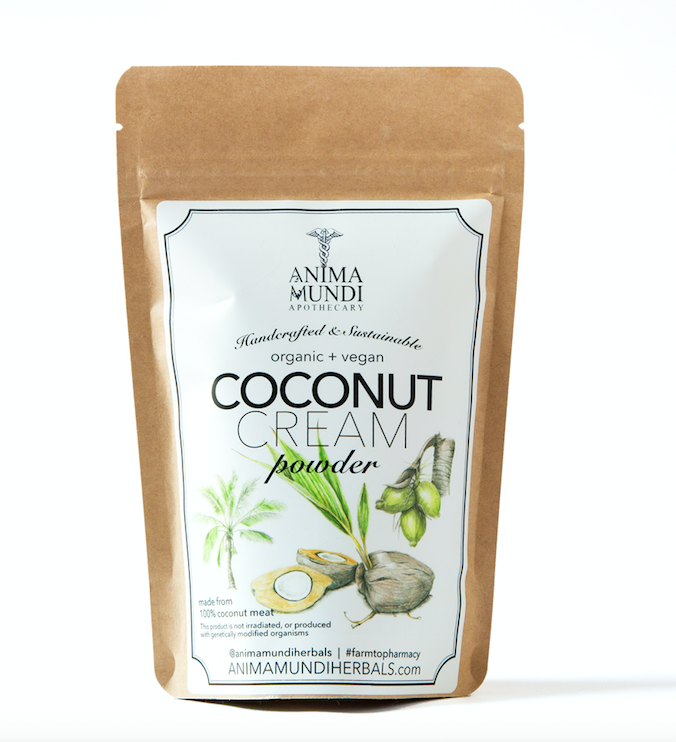 Anima Mundi Herbals Coconut Cream Powder