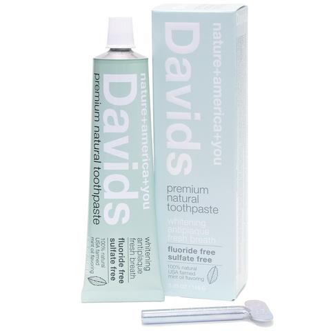 David's Premium Natural Toothpaste - Peppermint