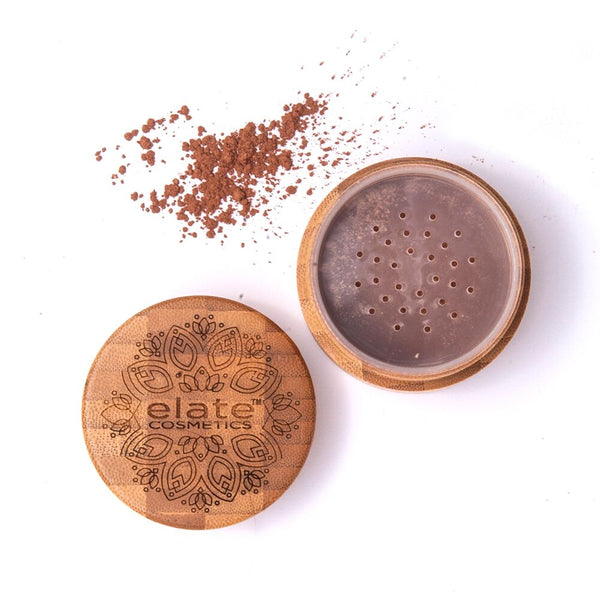 Elate Cosmetics Goddess Glow Bronzer Loose Powder - Anise Modern Apothecary