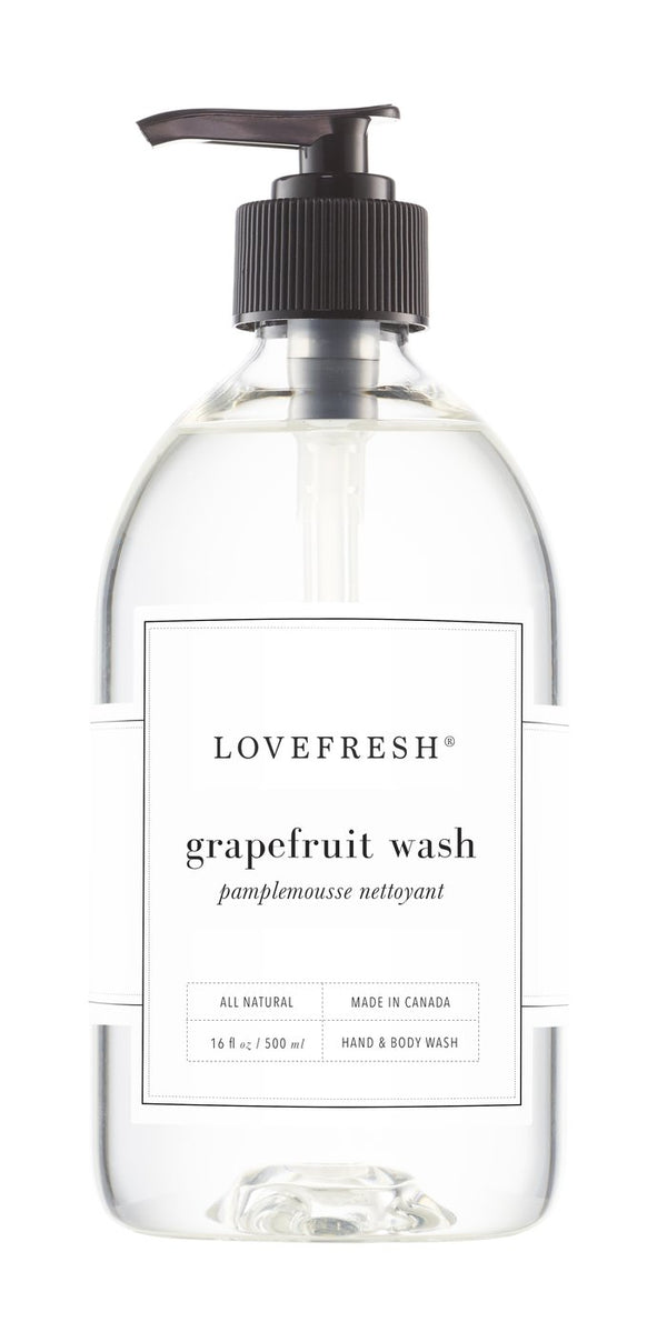 Lovefresh  Hand + Body Wash - Grapefruit