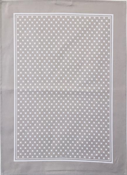 Ten And Co - Tea Towel Tiny X Warm Grey - Anise Modern Apothecary