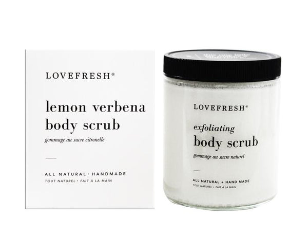 Lovefresh Lemon Verbena Body Scrub - Anise Modern Apothecary