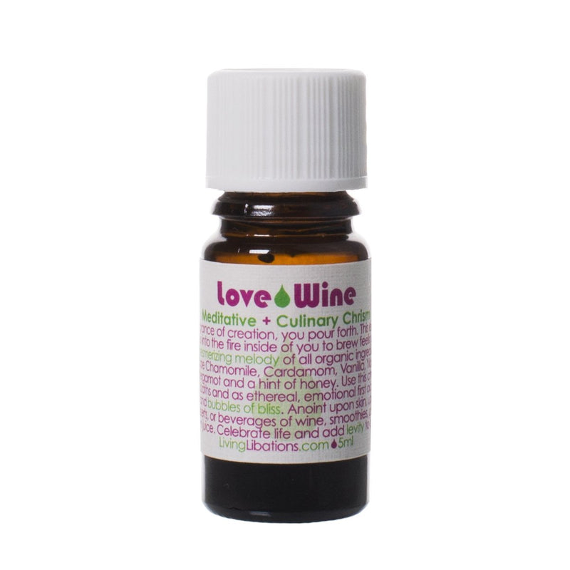 Living Libations Love Wine Essential Oil Blend - Anise Modern Apothecary
