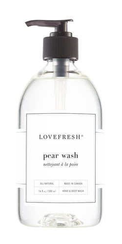 Lovefresh Hand + Body Wash - Pear - Anise Modern Apothecary