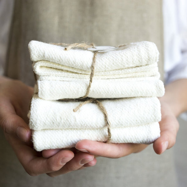 Pi'lo Studio Hemp Wash Cloths - Anise Modern Apothecary