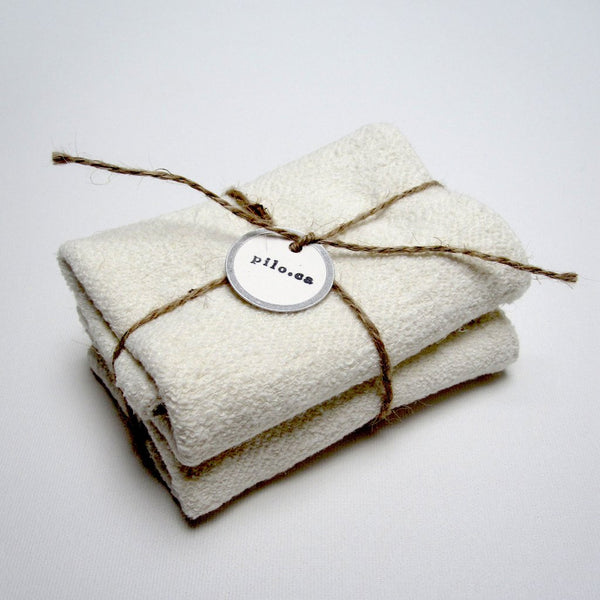Pi'lo Studio Hemp Wash Cloths