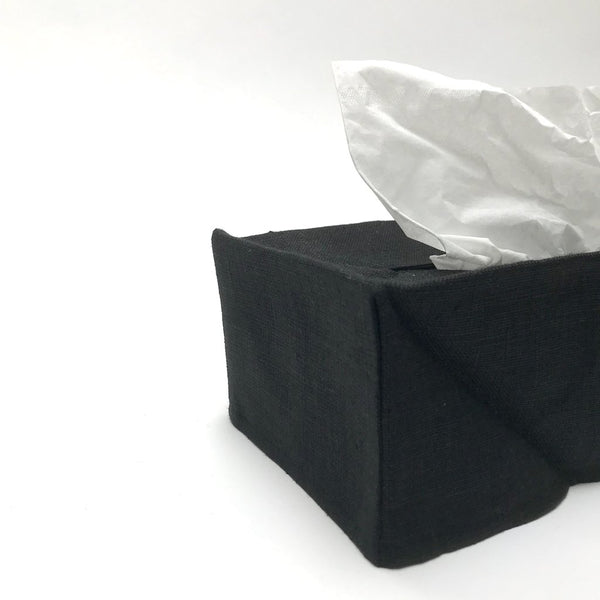 Pi'lo Black Linen Tissue Covers - Anise Modern Apothecary