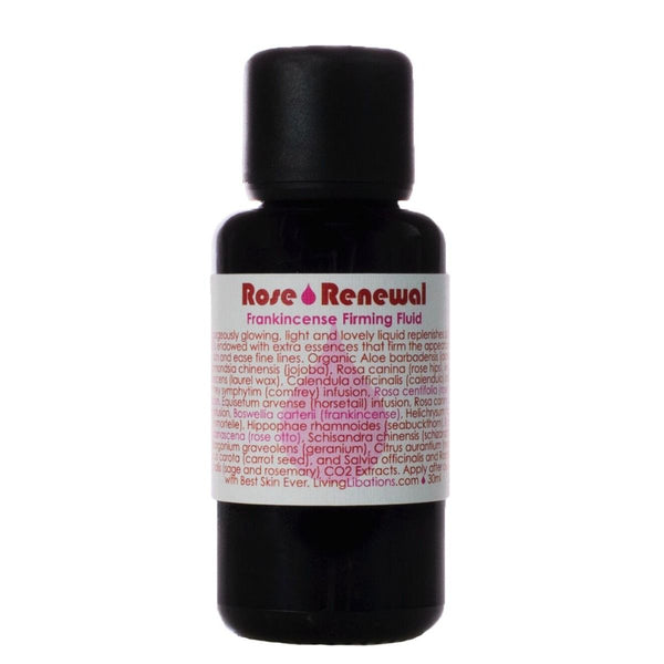 Living Libations Rose Renewal + Frankincense Firming Fluid