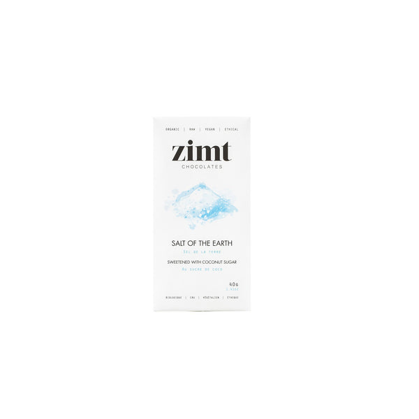 Zimt Chocolates - Salt of the Earth Bar - Anise Modern Apothecary