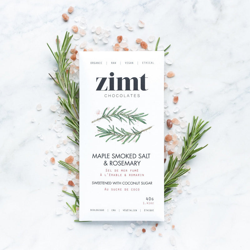 Zimt Chocolate - Maple Smoked Salt & Rosemary