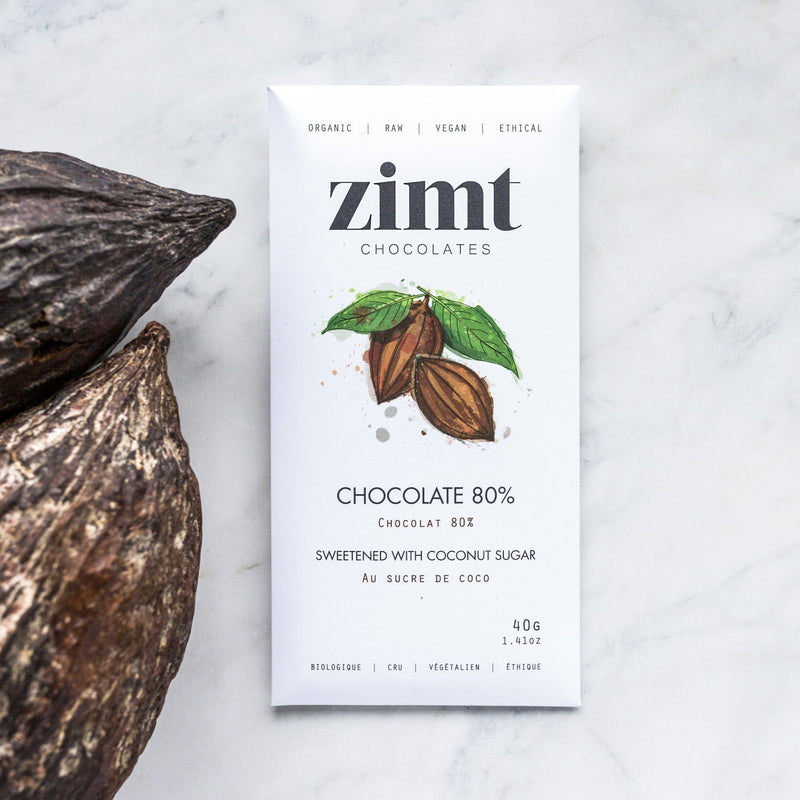 Zimt Chocolates - Chocolate 80% Bar - Anise Modern Apothecary