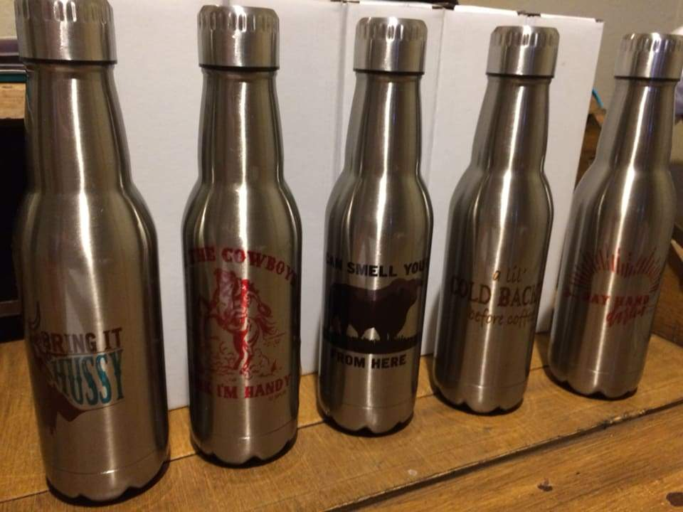 Stainless Steel Beer bottles