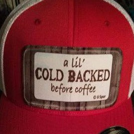 Cold Backed cap