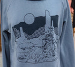 Load image into Gallery viewer, Hot Pursuit on crew neck or hooded sweatshirt